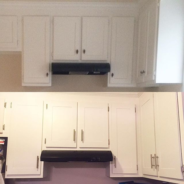 Redoing Kitchen Cabinets: Redoing Kitchen Cabinets For Less Than $200