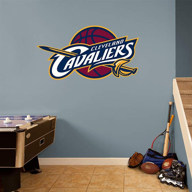 Cleveland Cavaliers Logo Fathead Wall Decal | Cleveland Cavaliers Wall Decal