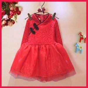 889373 Dress Pakaian Terusan Anak Perempuan cantik Manis Modis