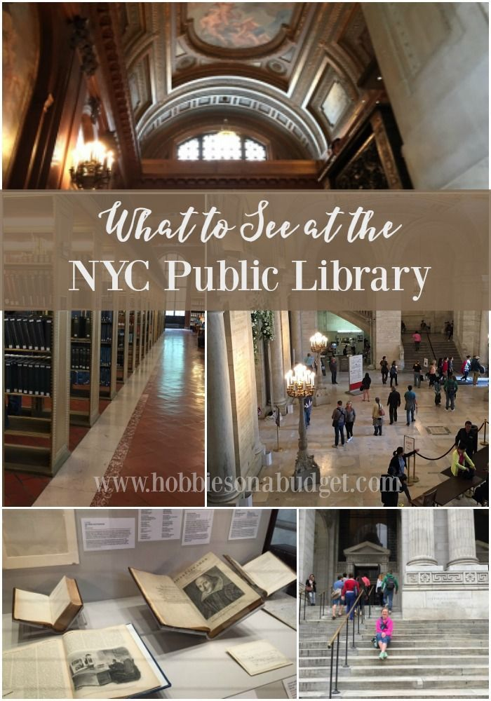 What to see at the NYC Public Library!  This is a great FREE tourism stop on your New York City Walking Tour