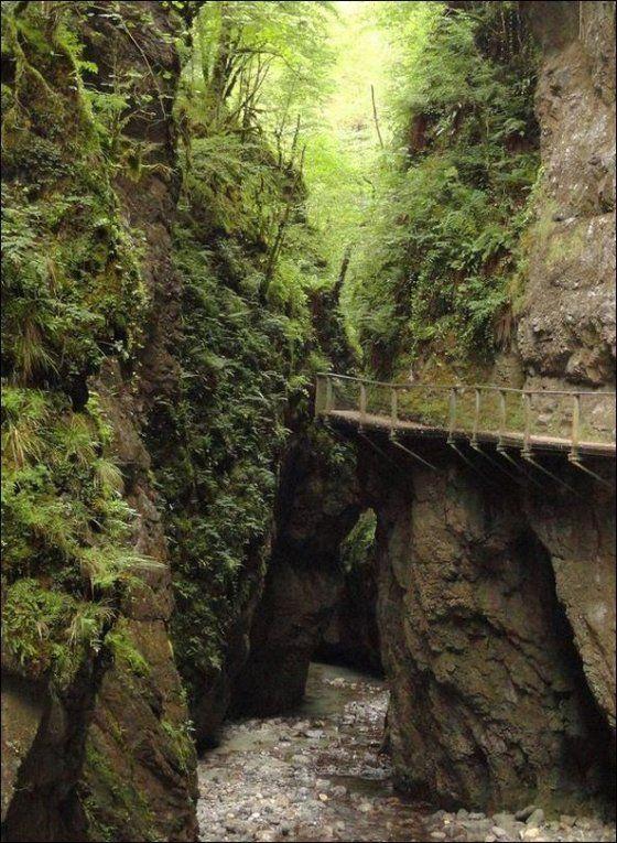 Gorges de Kakouetta, Saint-Engrâce (Pyrénées-Atlantiques). Aquitaine