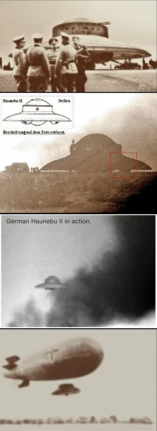 German UFO - just ask yourself WHY and HOW did they get these Ideas and Advances in so early years??...