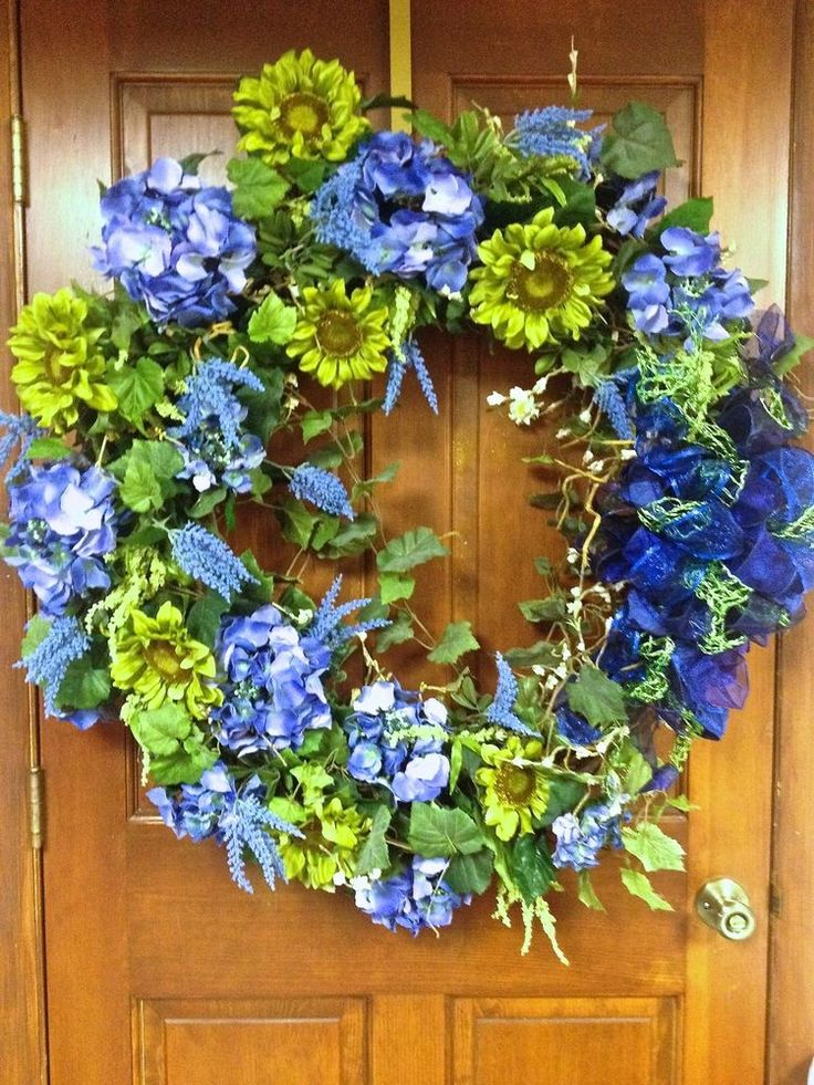 Best images about tuscan style silk floral wreaths