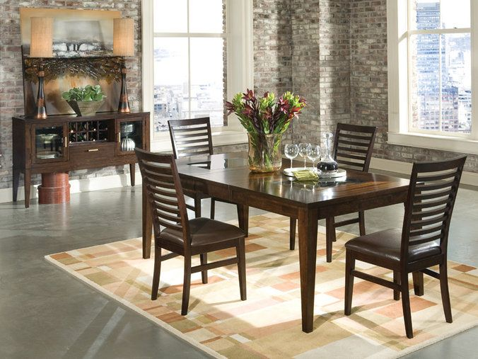 Intercon Kashi Dining Set At DAWS Home Furnishings In El Paso TX