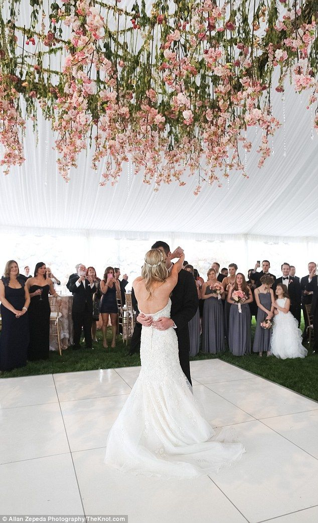 Nearly one year after they were seriously injured in the Boston Marathon attack, Rebekah Gregory and Pete DiMartino wed on Friday on a 19th-century estate in North Carolina