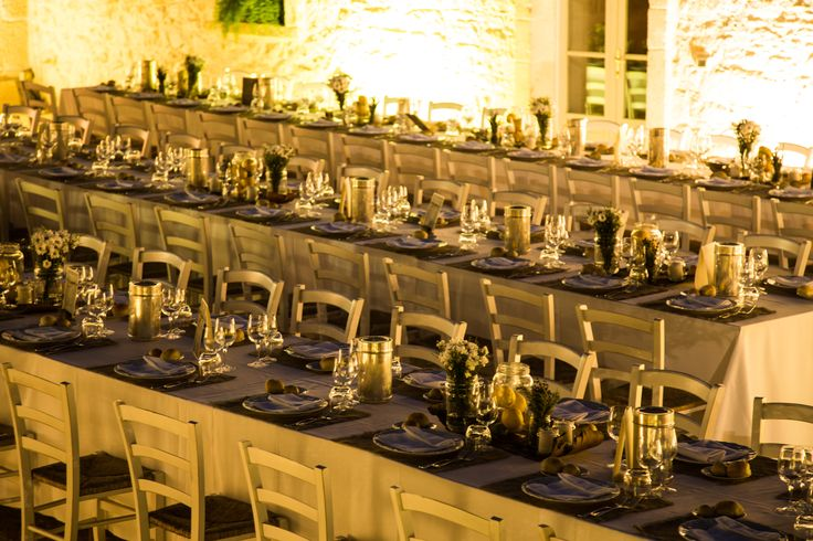 Wedding reception in a traditional Apulia Masseria in Valle d'Itria..