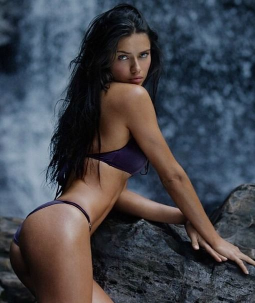 Adriana Lima for Victoria's Secret Swim Special 2015. Never Forget.