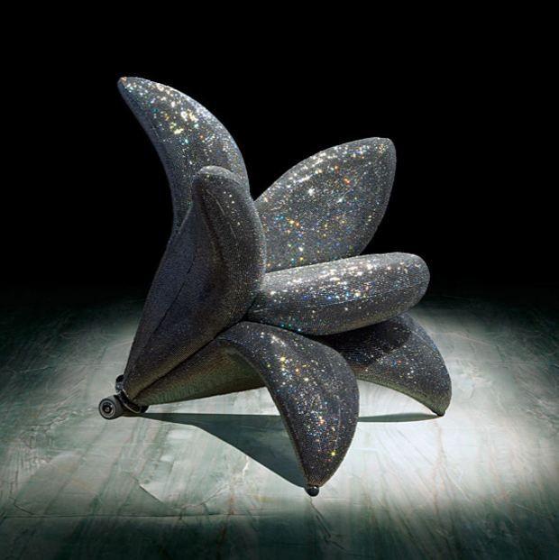 Edra Getsuen Diamond Armchair
