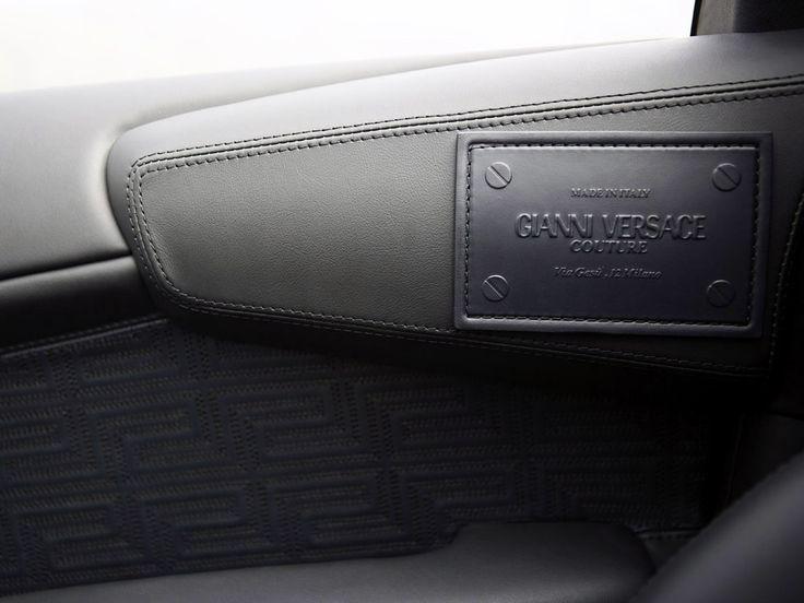 -The Special Edition Lamborghinis- 2006-2008/9 LAMBORGHINI MURCIELAGO LP640 VERSACE (20 built in coupes & roadsters) - Interior Versace Emblem/Badge/ Plaque