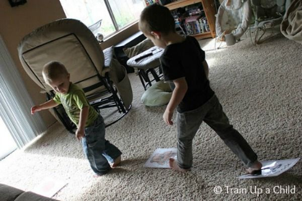 Train Up a Child: Music and Movement Games for Kids
