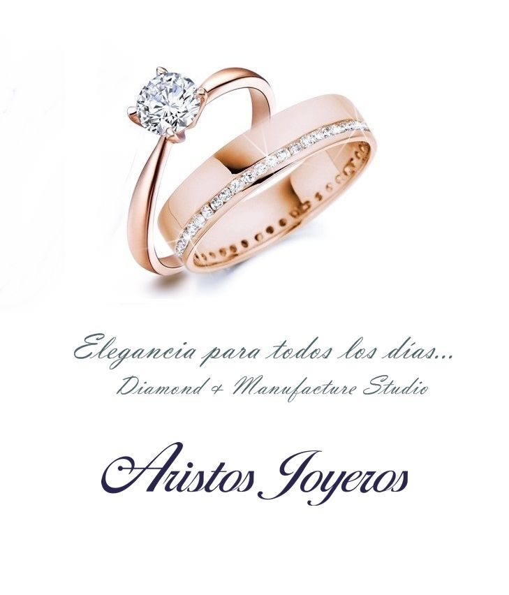 Lo novedoso en tu compromiso... Oro rosa y diamantes !! #Amor #Elegancia #Brillo