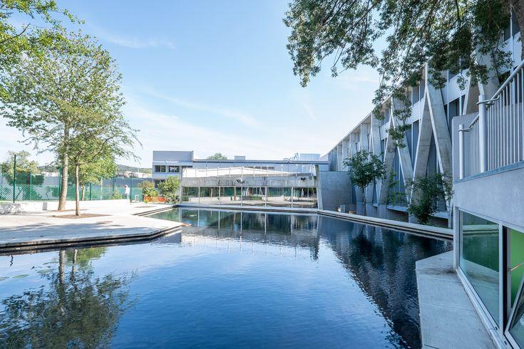 Escola Secundária de Barcelos / Cerejeira Fontes Arquitectos
