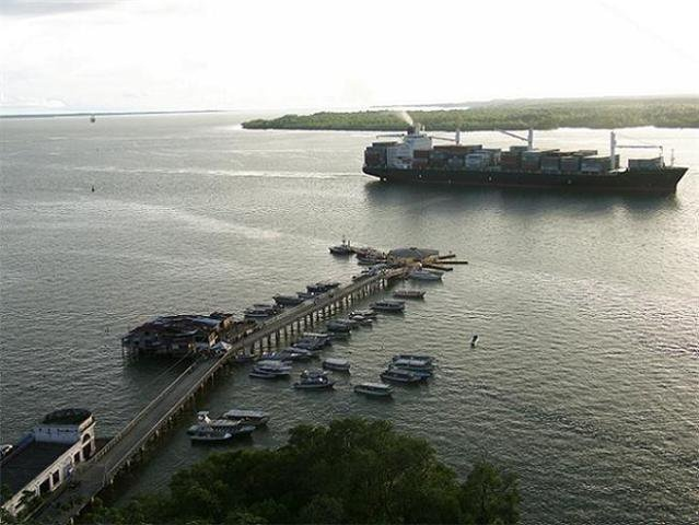 my beautiful sea port. This is Colombia