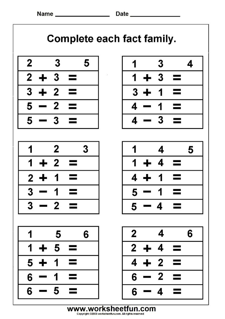 119 best Addition math images on Pinterest School, Cards and - horizontal multiplication facts worksheets