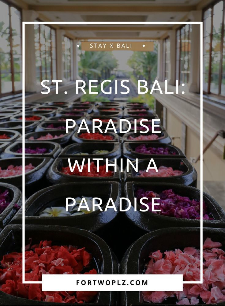 What better way to enjoy Bali than relaxing in luxury and spending a day soaking up the sun on private beach? The St. Regis Bali Resort provides a beautiful tranquil setting to relax and rejuvenate in elegance. Click to read more about this exceptional jewel on this lavishing island.