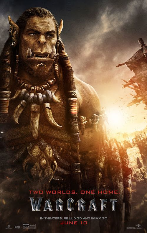 WARCRAFT movie poster No.11 (Durotan)