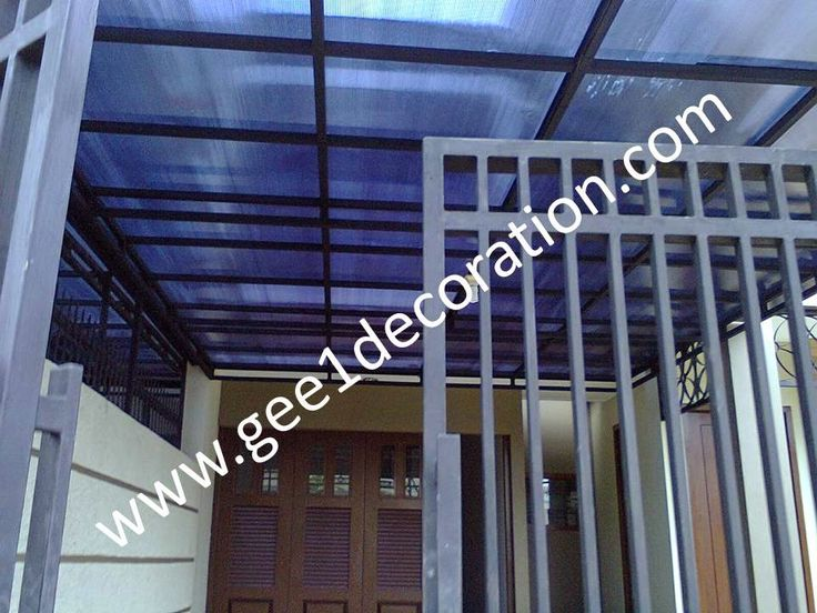 aluminium, kusen, kaca, partisi,  pintu, jendela, lipat, geser, swing, jungkit, pivot, sliding, : atap canopi garasi