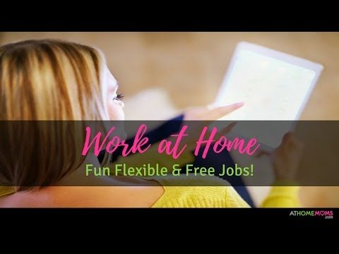 Fun Flexible & Free Jobs for Moms | Work at Home | Episode #1 -  http://www.wahmmo.com/fun-flexible-free-jobs-for-moms-work-at-home-episode-1/ -  - WAHMMO