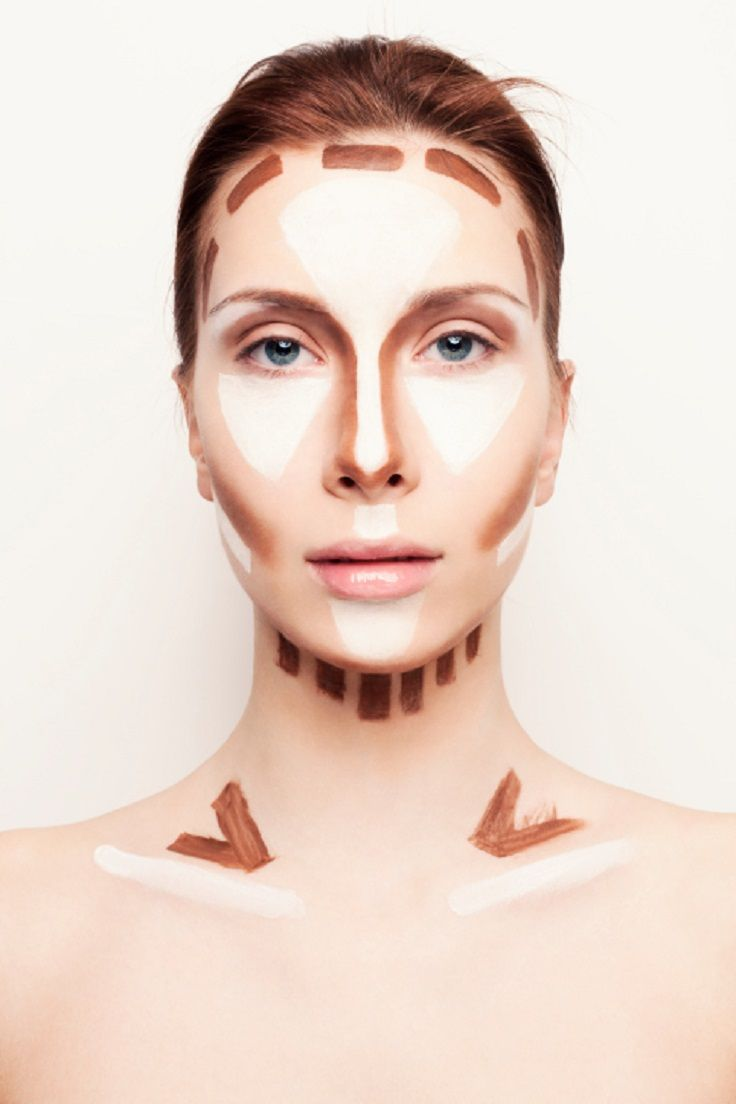 Now you can temporary change some parts of your body that you like less or you would like to look different with the help of a contouring palette and a brush. Look at this amazing tutorials and find out the secret that most of the celebrities use! #Contouring #Makeup #Whole_Body_Makeup