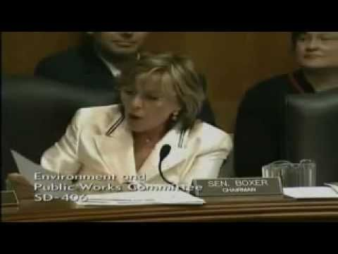 FLASHBACK: Barbara Boxer Called Out On The Carpet: Black Chamber of Commerce, President and CEO Harry Alford accused Senator Boxer (D-CA) of playing race politics during an EPW Committee hearing on green jobs.