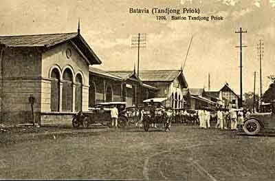 st-tandjong-priok, Batavia 1910