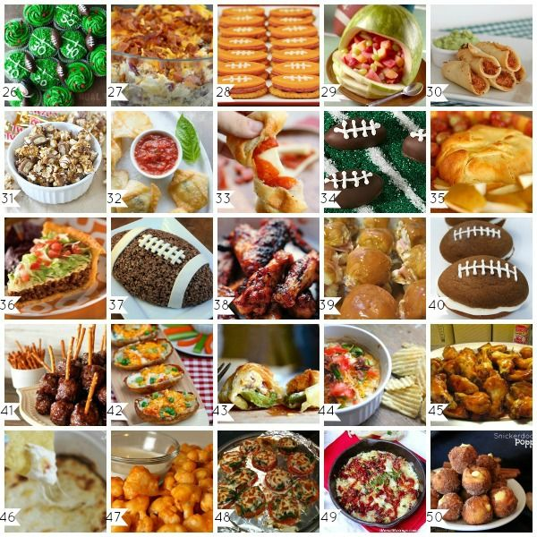 Gearing up for Sunday football? Here's some of our favorite game day recipes! #GameDayFood #Football #NFL