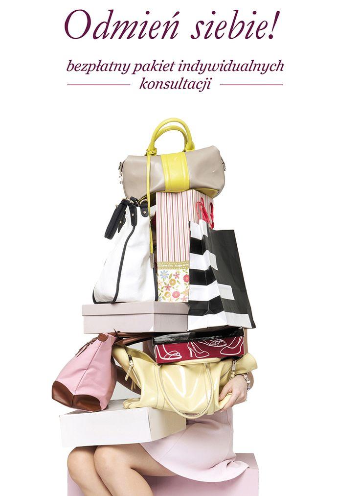 Spotkanie ze stylistką - Odmień siebie i swoją szafę.