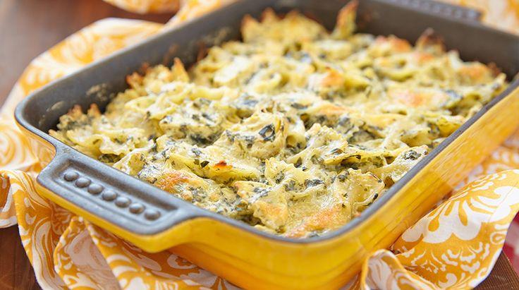 La Ricetta della Pasta al Forno con Carciofi. Leggi questa deliziosa ricetta e prova una saporita variante della classica pasta e carciofi a casa tua...
