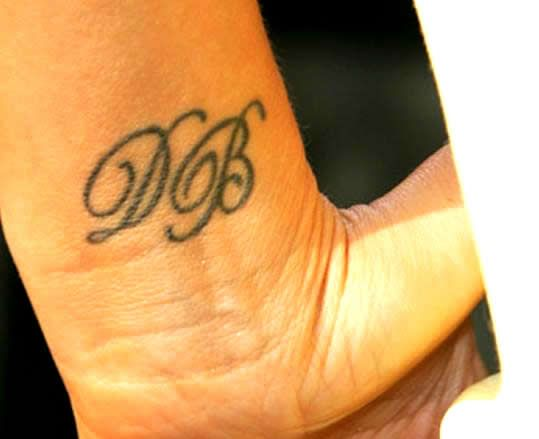 Victoria Beckham Wrist Tattoo Meanings & Photos of Her Wrist Tattoos