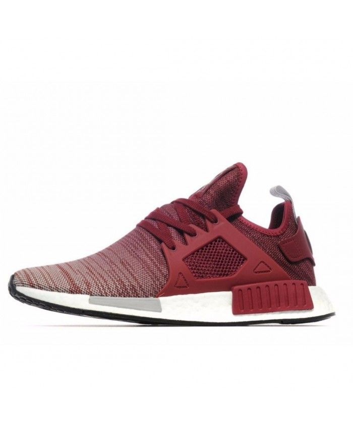0aaad6498 Cheap Adidas Originals NMD Xr1 Red Light Grey Shoe
