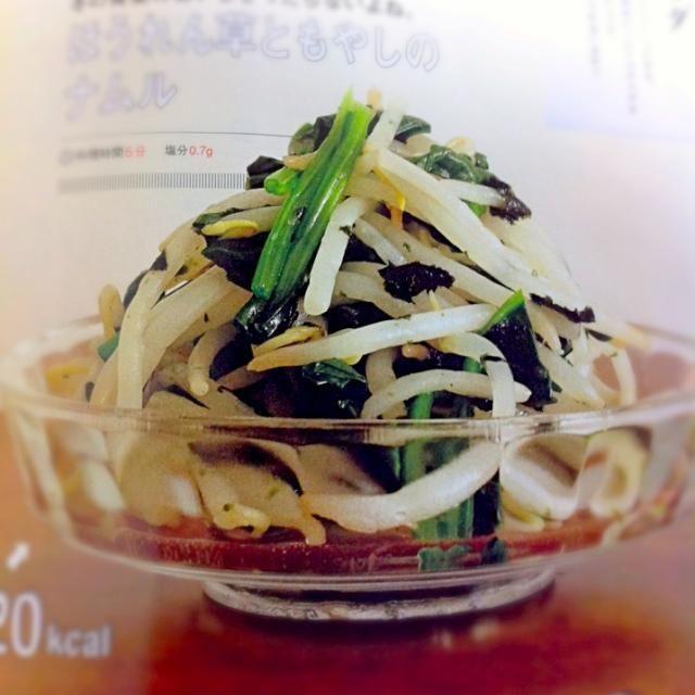 by食べようび - 10件のもぐもぐ - ほうれん草ともやしのナムル by akarenga