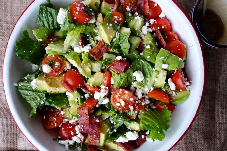 """I like to call this a gateway salad. It's the shallow-end of the salad world. Where you can just gently lower yourself in and say """"Hey, this isn't bad at all! In fact… I quite like it!"""" If you happen to be a salad dodger who's trying to be virtuous this month, this is for...  Read more"""