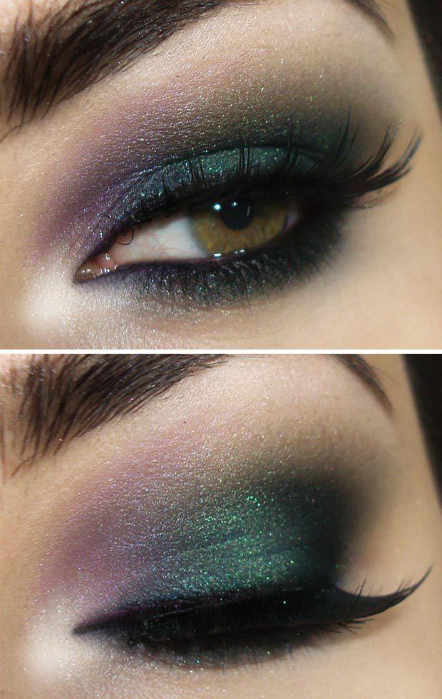 sombra verde e roxa - Pesquisa Google