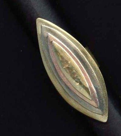 Pierścień miedziana mosiężna biżuteria