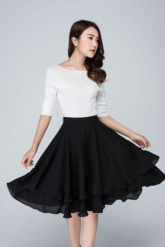 fantastic knee length skirts outfits