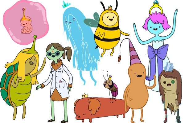 Adventure Time Princesses 1