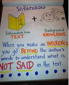 inferences - good way to explain them