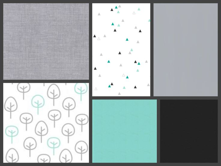 A personal favorite from my Etsy shop https://www.etsy.com/ca/listing/477492997/modern-teal-and-grey-baby-crib-bedding