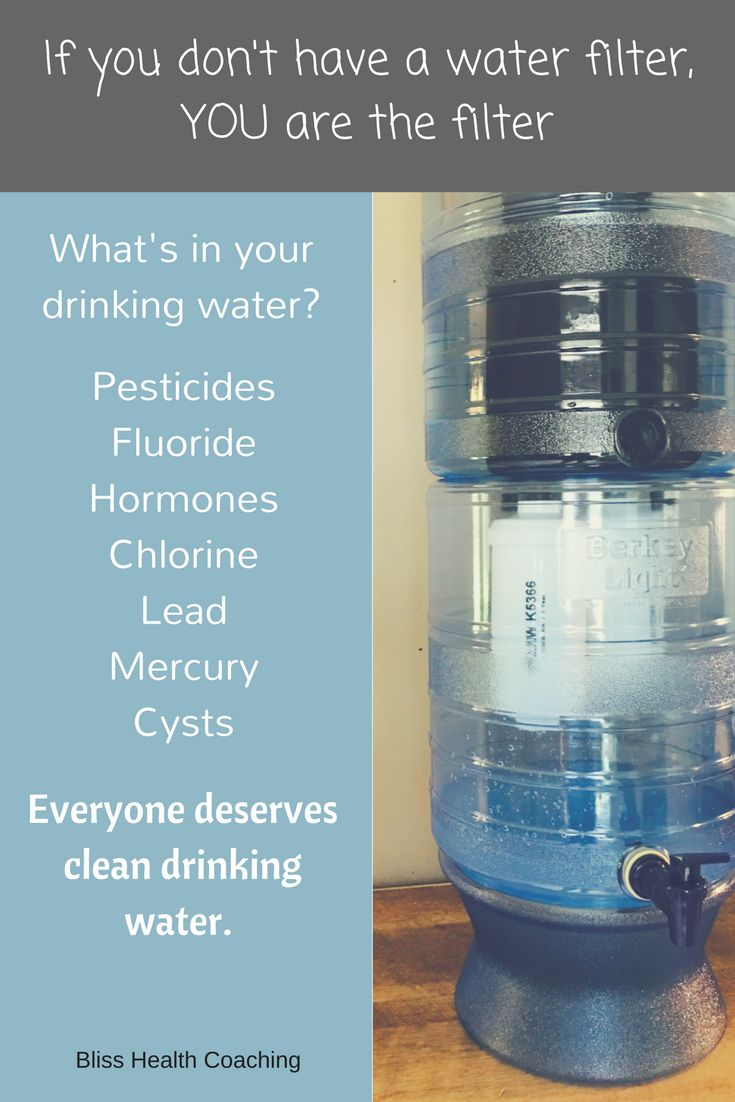 Tap and ground water contains pesticides, hormones and viruses. Find out an affordable way to give your family CLEAN water and peace of mind.