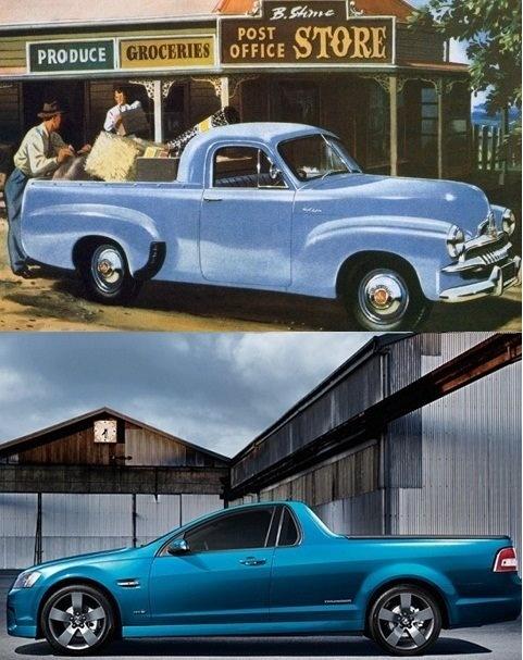 Holden Utes.