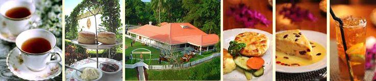 English Tea House and Restaurant, Sandakan, Borneo