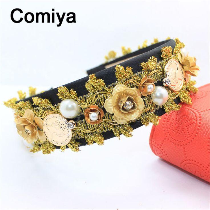 Comiya индийские ювелирные изделия barroco ручной работы свадебные аксессуары для волос hairbands для женщин барокко coroa де noiva hairband оптовая купить на AliExpress