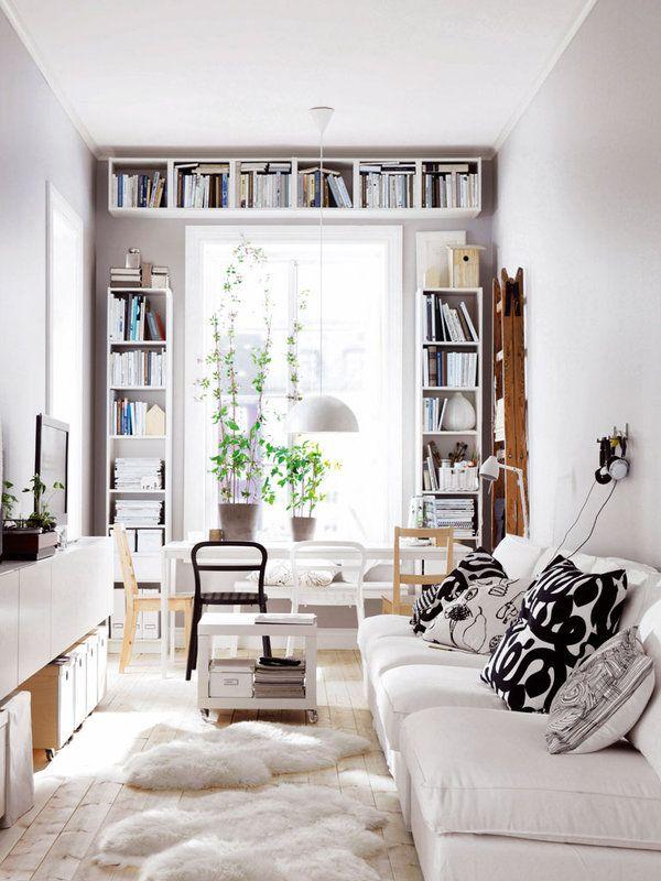¿casas pequeñas? ¿Poco espacio para colocar libros?