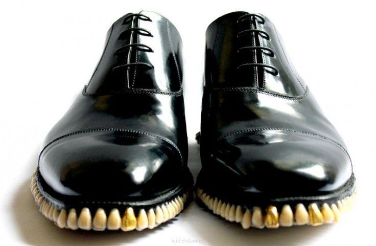 Apex Predator Shoes Made Of 1,050 Teeth | OhGizmo!