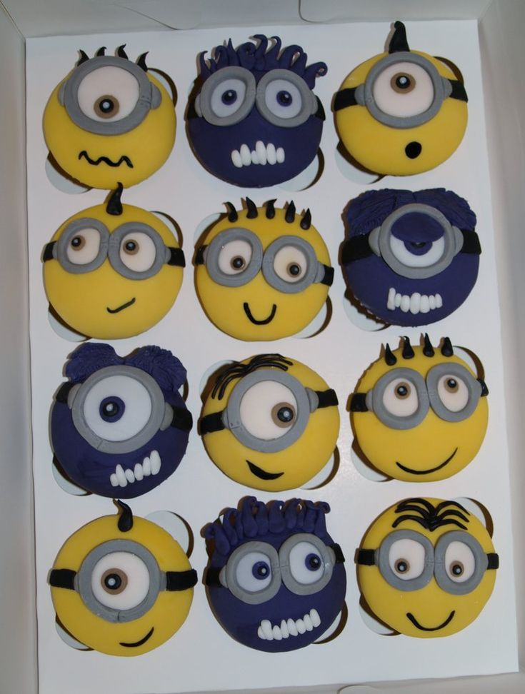 Minions and Evil Minions Cupcakes 2 by ~sparks1992 on deviantART