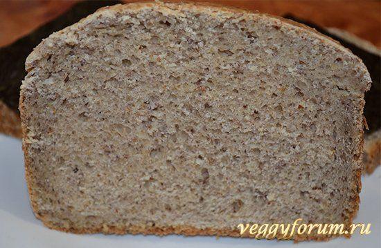Ржаной хлеб на собственной закваске без дрожжей