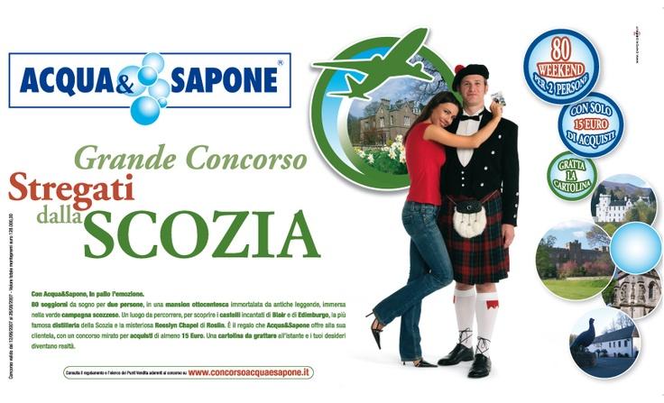 """GRANDE CONCORSO ACQUA 2007 """" STREGATI DALLA SCOZIA"""""""