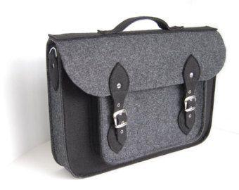 MacBook Pro 13 inch bag satchel Laptop bag case by etoidesign