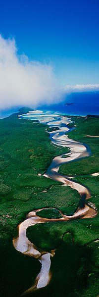 ✯ Tidal Twist - Whitsunday Island, Queensland, Australia #travel