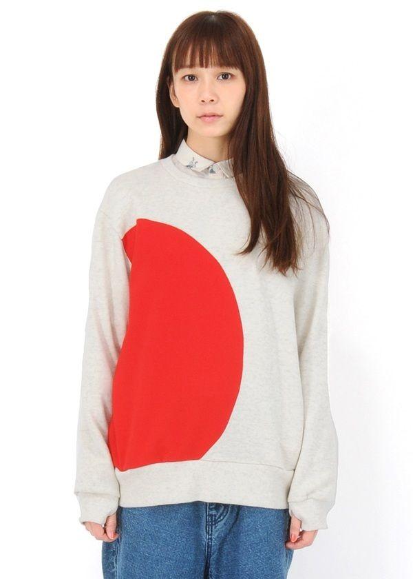ネ・ネット / JAPAN裏毛 / トレーナー(02 red(21)): Ladies Tops | HUMOR ユーモア